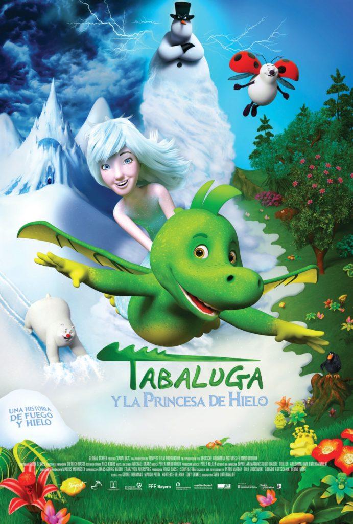 Cartel de Tabaluga y la princesa de hielo