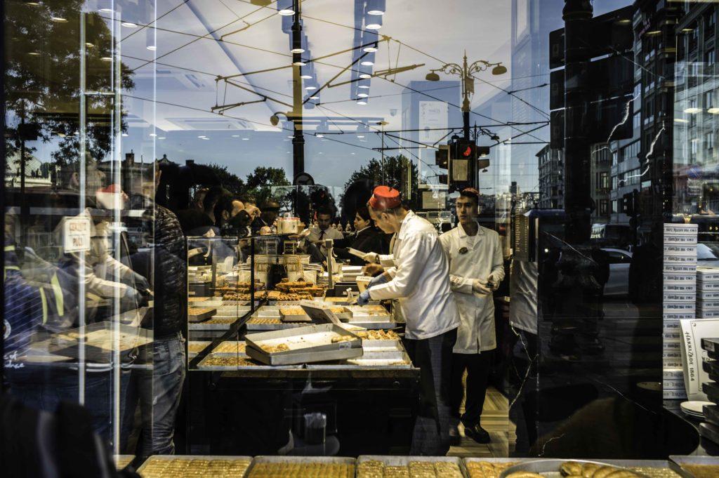 Pastelería en Estambul