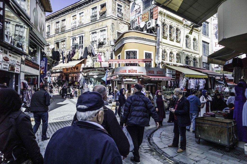 Calles de Estambul