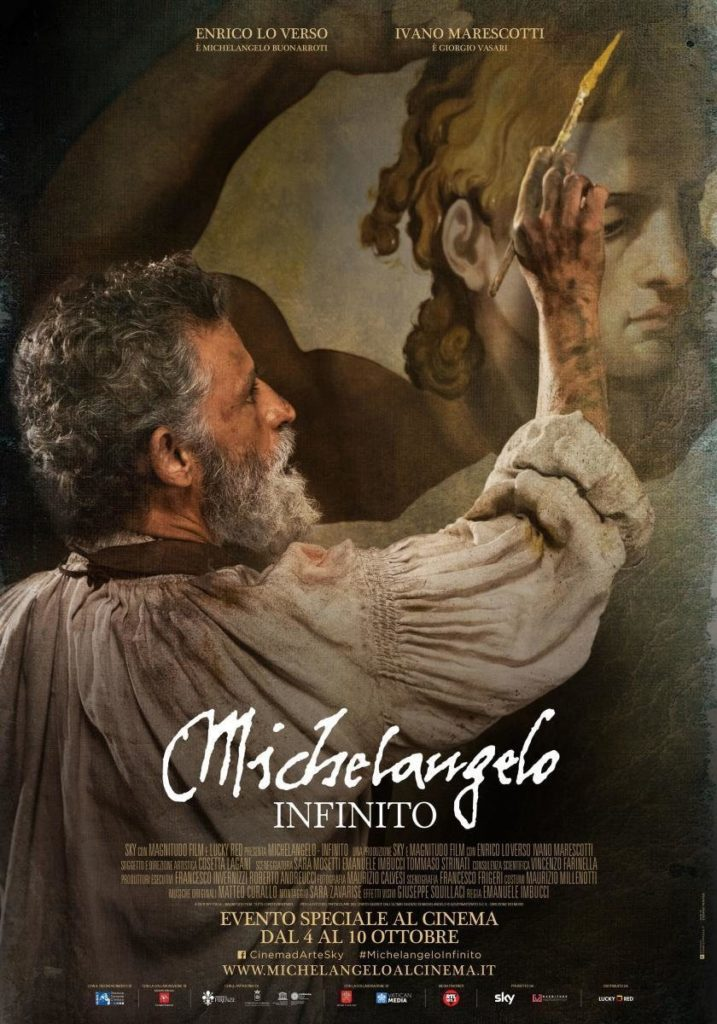 Cartel de Michelangelo infinito