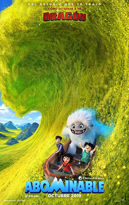 Cartel de Abominable, estrenos del 11 de octubre