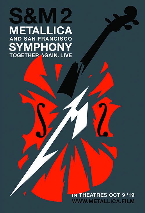 Cartel de Metallica and San Francisco Symphony: S&M²