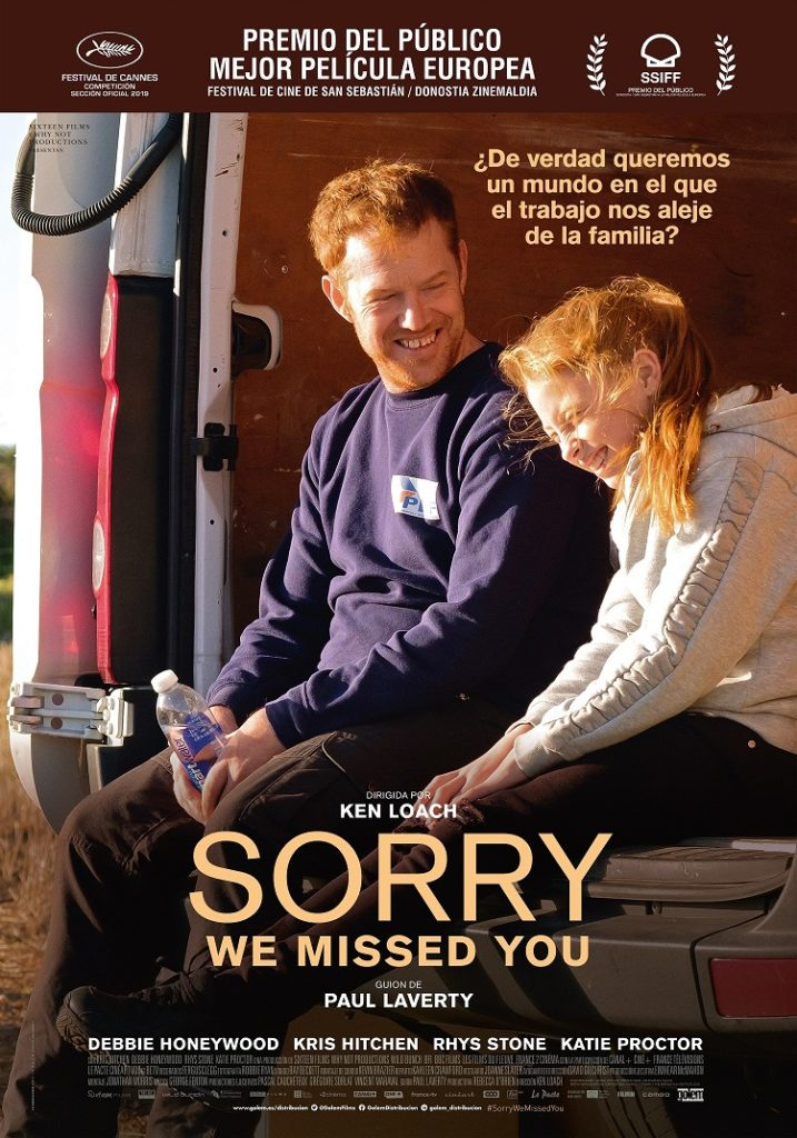 Cartel de Sorry, we missed you
