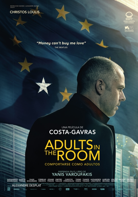 Cartel de Adults in the Room, estrenos del 18 de octubre