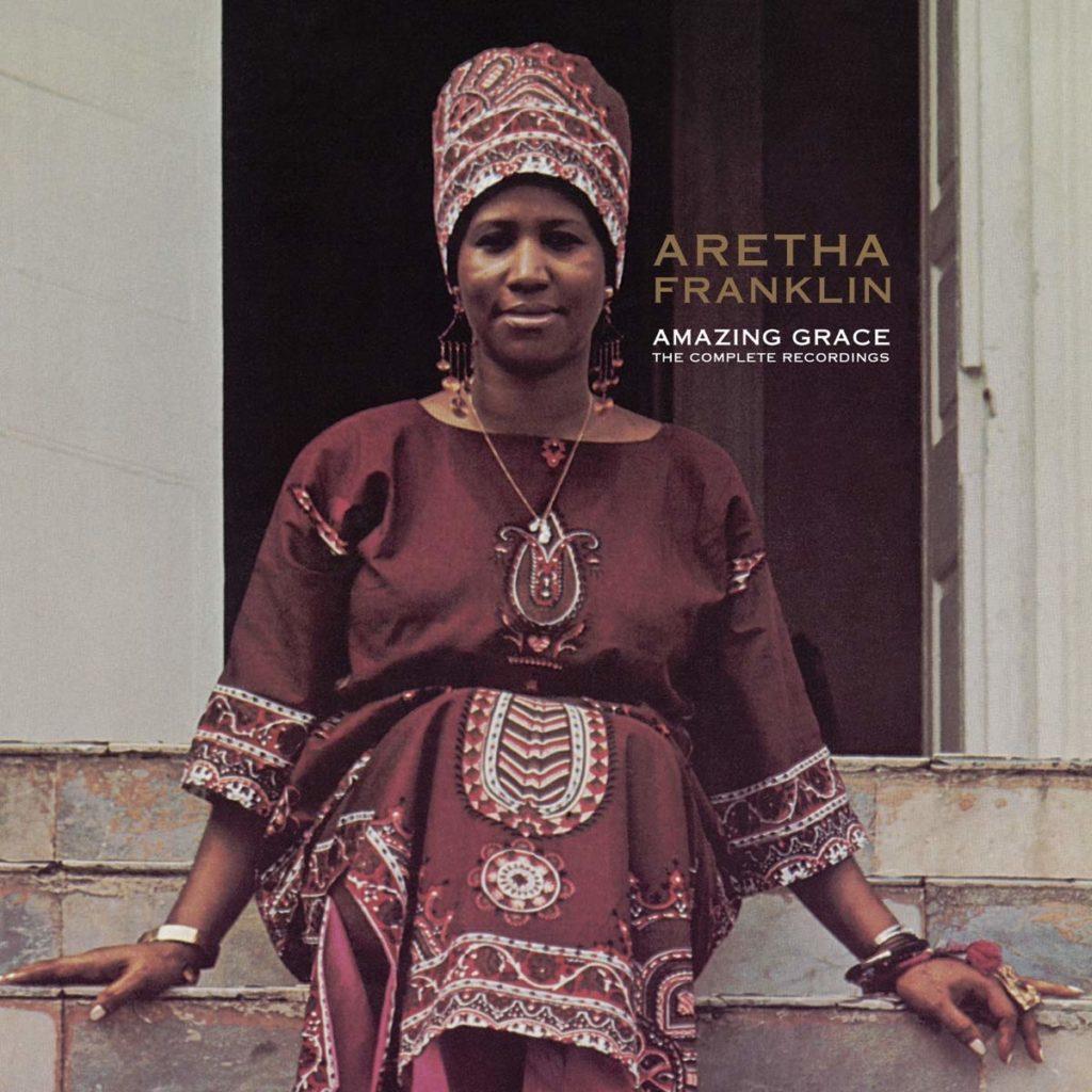 Portada del disco Amazing Grace, en 4 LPs