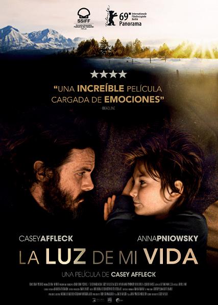 Cartel de Luz de mi vida, estrenos del 11 de octubre