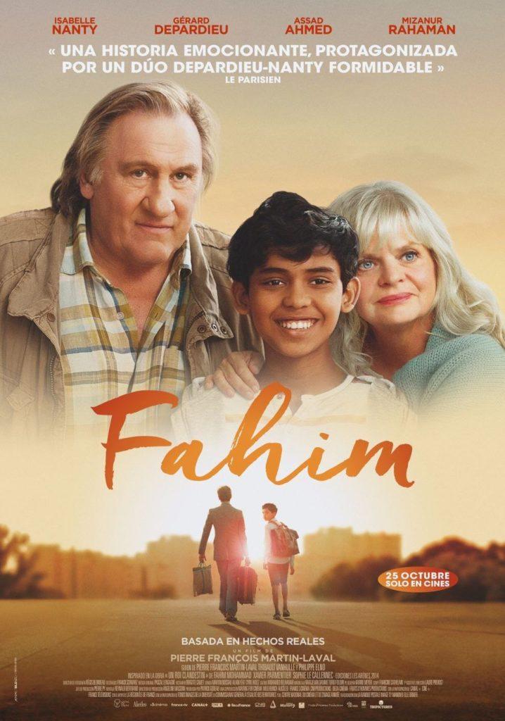 Cartel de Fahim, estrenos del 13 de marzo