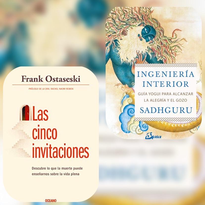 Los últimos libros que ha leído Javier Iriondo son Ingeniería Interior y Las cinco invitaciones