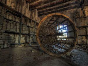 Lugares abandonados Fábrica de muñecas de porcelana