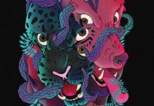 Detalle portada 'Leopardo Negro, Lobo Rojo'