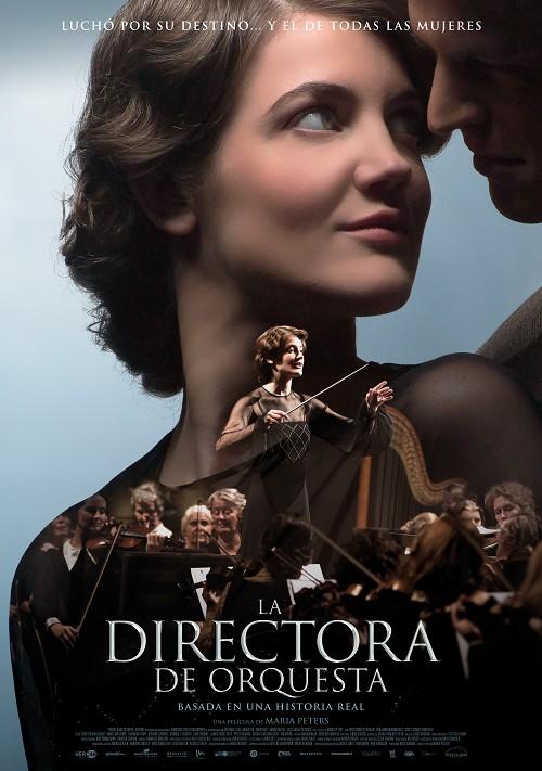 Cartel de La directora de orquesta