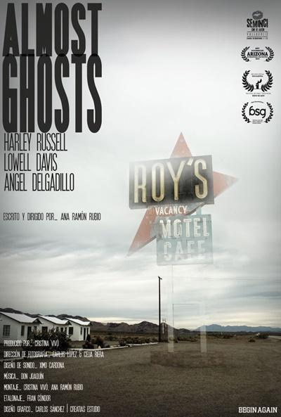 Cartel de Almost Ghosts