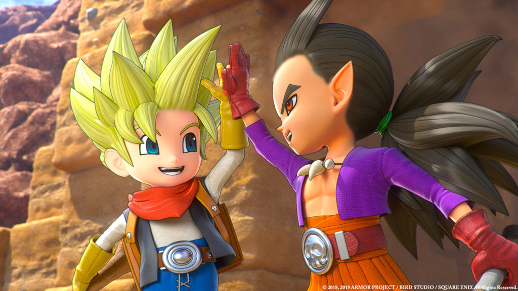 Dragon Quest Builders 2.