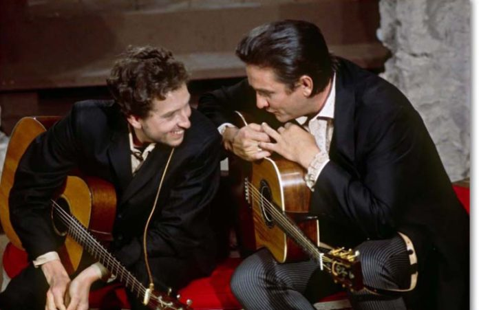 Bob Dylan y Johnny Cash