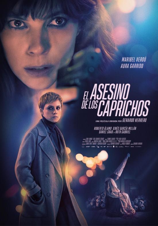 Cartel de El asesino de los Caprichos,  estrenos del 18 de octubre