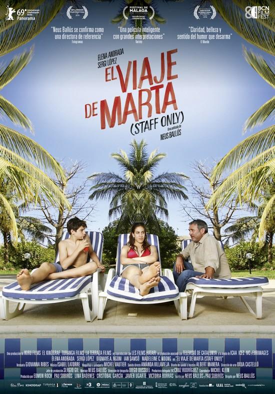 Cartel de El viaje de Marta (Staff Only)