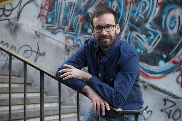 David Orange autor de La chica del semáforo y el hombre del coche