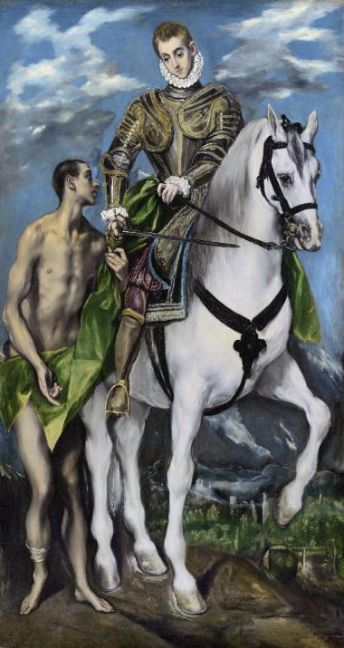San Martín y el mengido