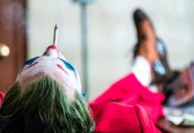Joker fumando