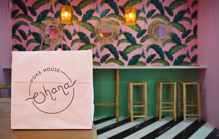 Ohana Poke House, come sano y diferente