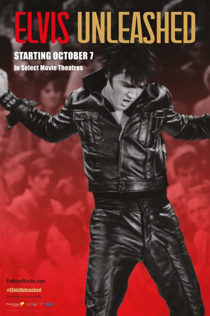 Cartel de Elvis Unleashed, estrenos del 18 de octubre