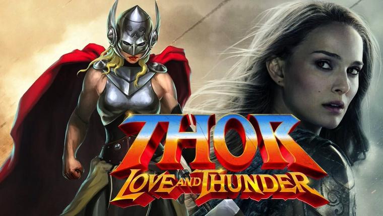 poster de la pelicula thor love and thunder