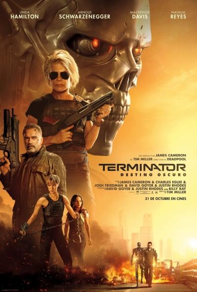 Cartel de Terminator: Destino oscuro, estrenos del 31 de octubre