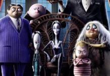 La familia Addams, estrenos del 25 de octubre