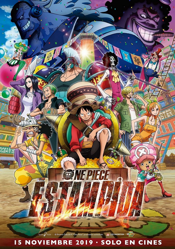 Cartel de One Piece: Estampida