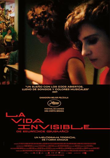 Cartel de  La vida invisible de Eurídice Gusmão