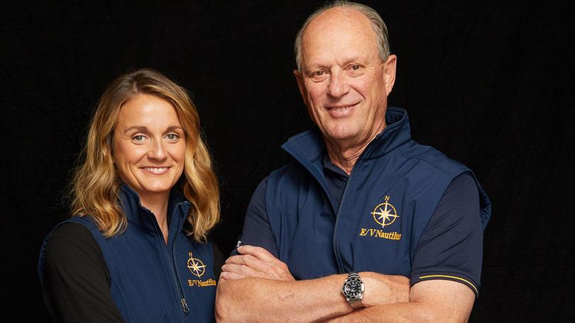 Bob Ballard y Allison Fundis