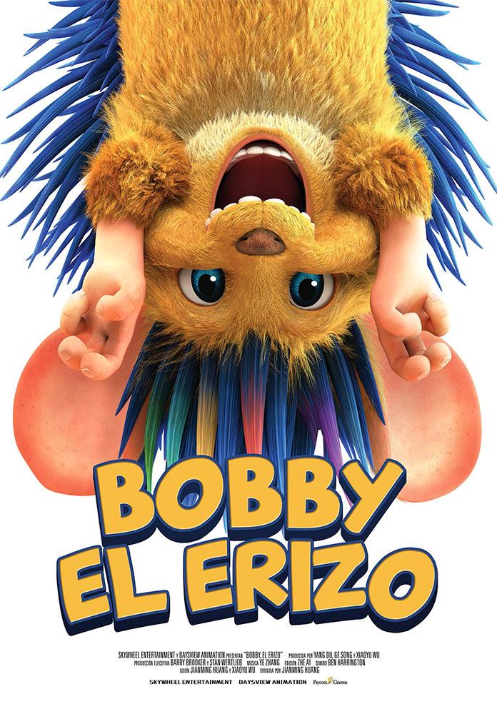 Cartel de Bobby, el erizo, estrenos del 29 de noviembre