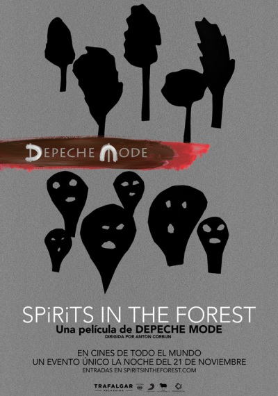 Cartel de Depeche Mode: Spirits in The Forest