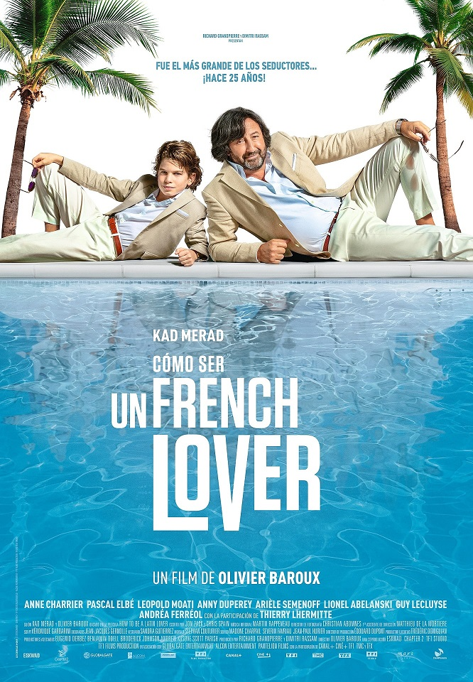 Cartel de Cómo ser un french lover
