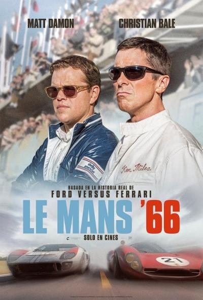 Cartel de Le Mans 66