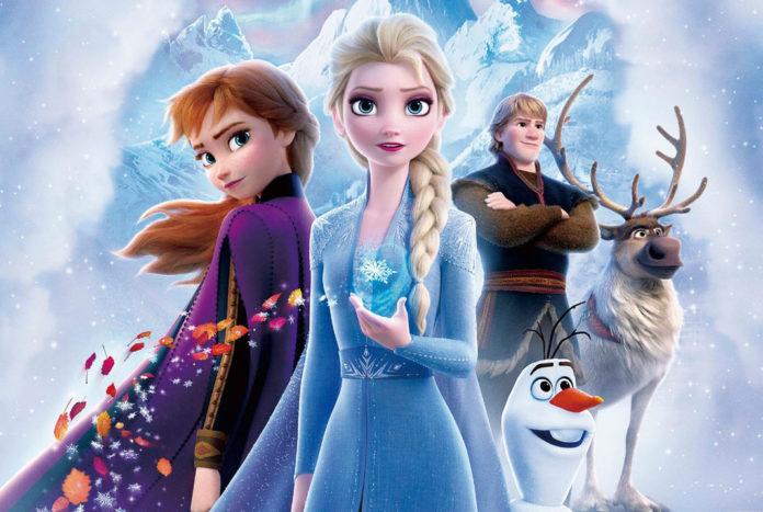 Frozen 2, Anna, Elsa, Kristoff, Olaf y Sven