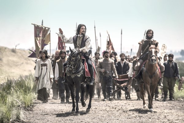 Hernán. A caballo con su ejército