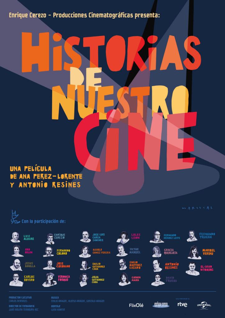 Cartel de Historias de nuestro cine, estrenos del 22 de noviembre