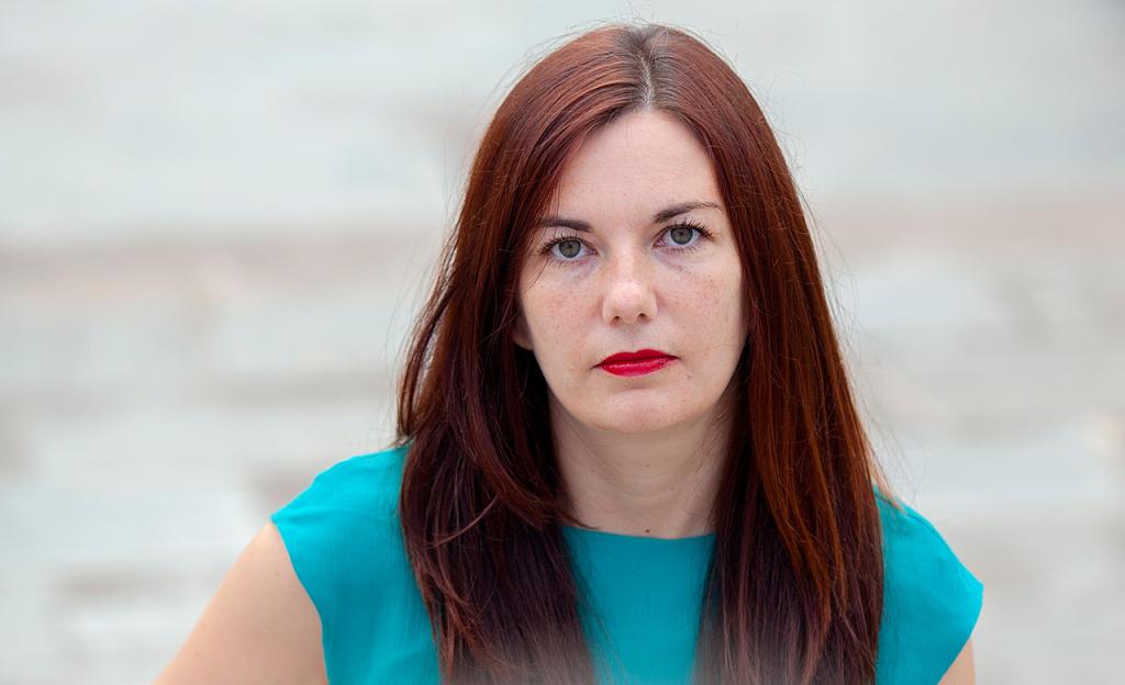 Ledicia Costas, autora de Infamia