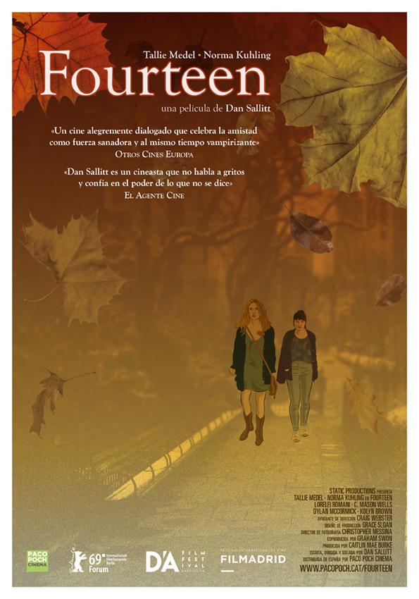 Cartel de Fourteen, estrenos del 8 de noviembre
