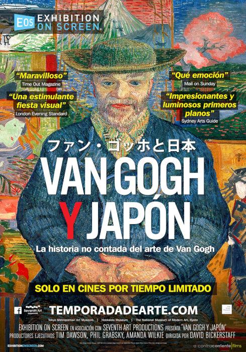 Cartel de Van Gogh y Japón