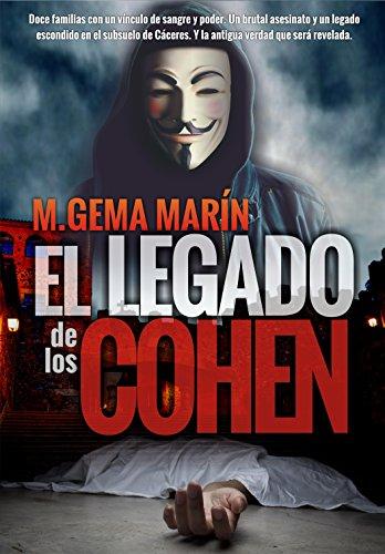 Portada de El Legado de los Cohen de M.Gema Marín
