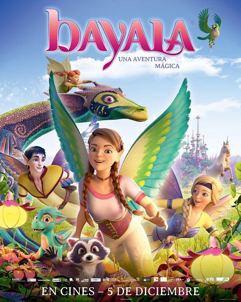 Cartel de Bayala, una aventura mágica, estrenos del 5 de diciembre