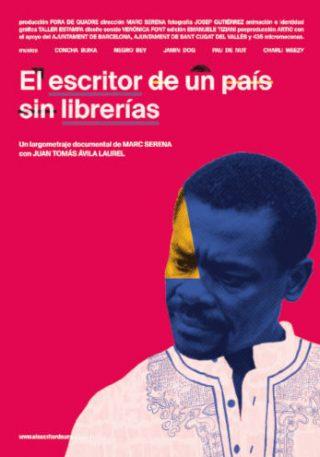 Cartel de El escritor de un país sin librerías