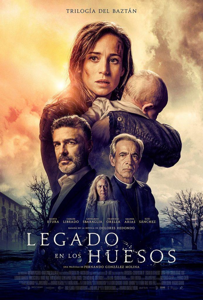 Cartel de Legado en los huesos, estrenos del 5 de diciembre