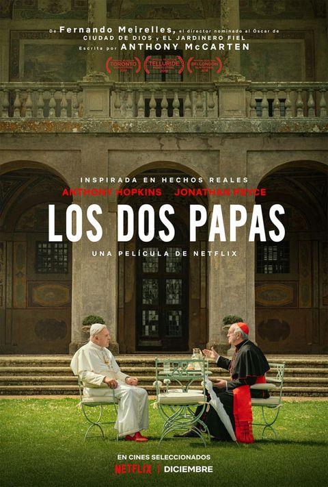 Cartel de Los dos papas