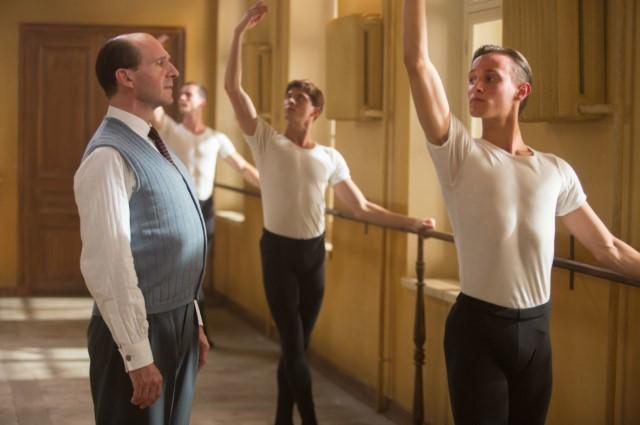 El bailarín. Fiennes como Pushkin