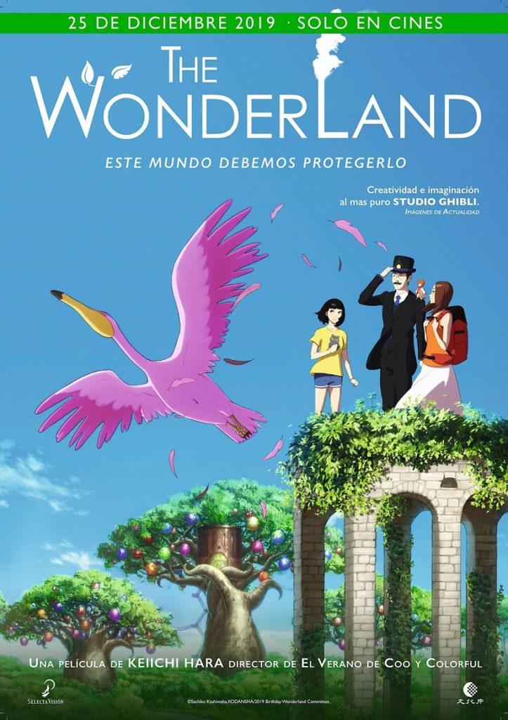 Cartel de The Wonderland, estrenos del 19 de diciembre