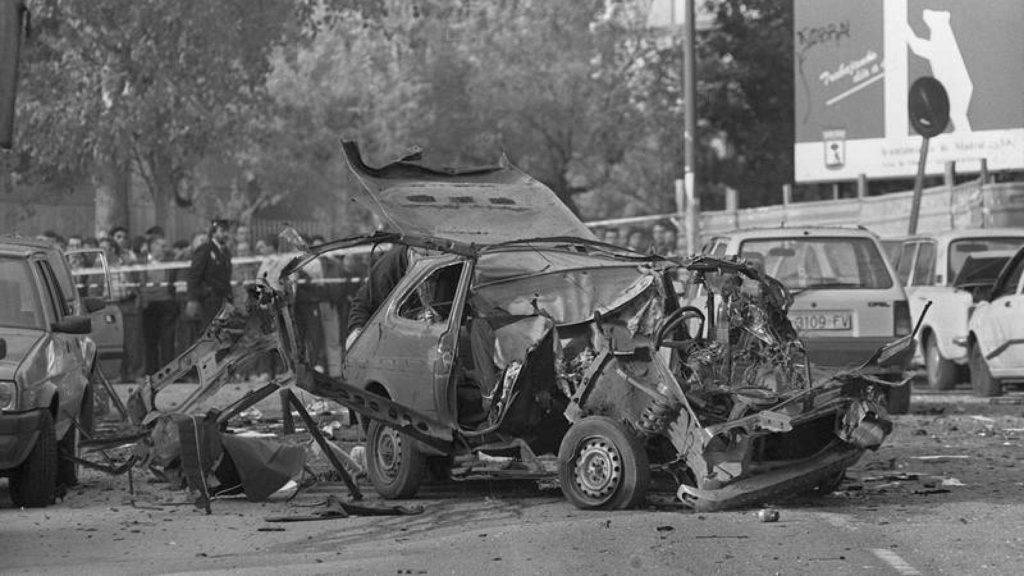 El atentado de un coche bomba es significativo en La Espía