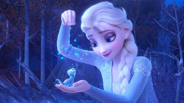 Bruni con Elsa, Frozen II